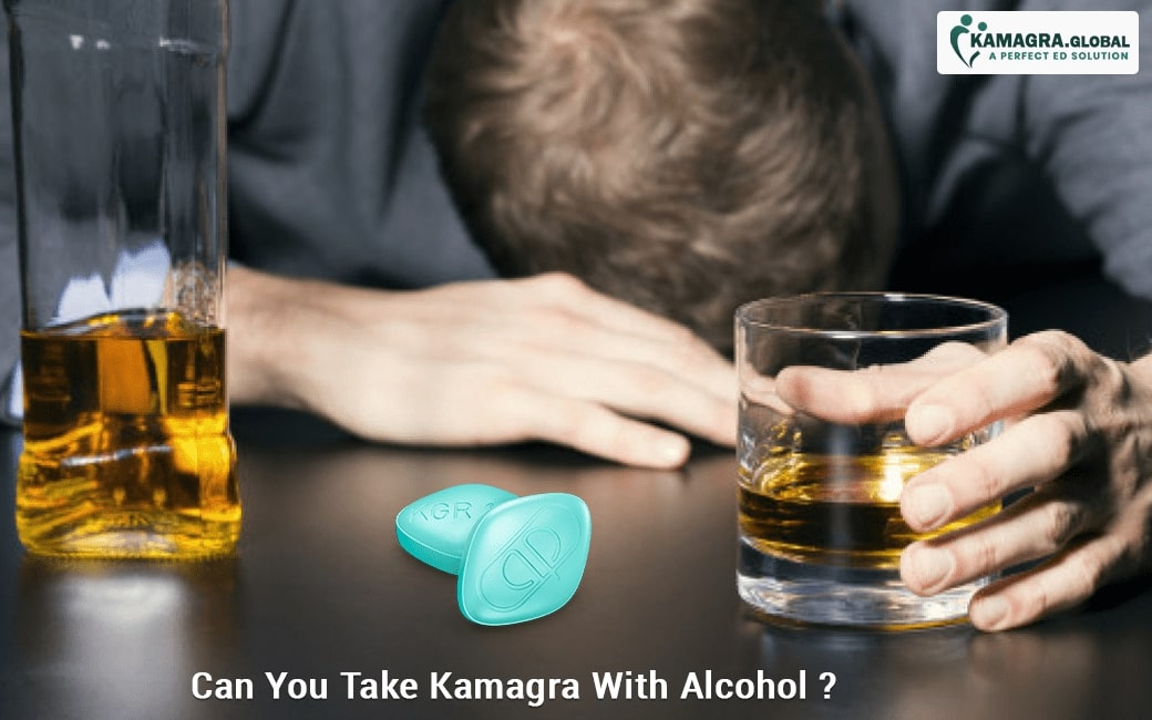 Can You Take Kamagra With Alcohol