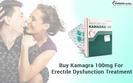 Buy Kamagra 100mg For Erectile Dysfunction Treatment