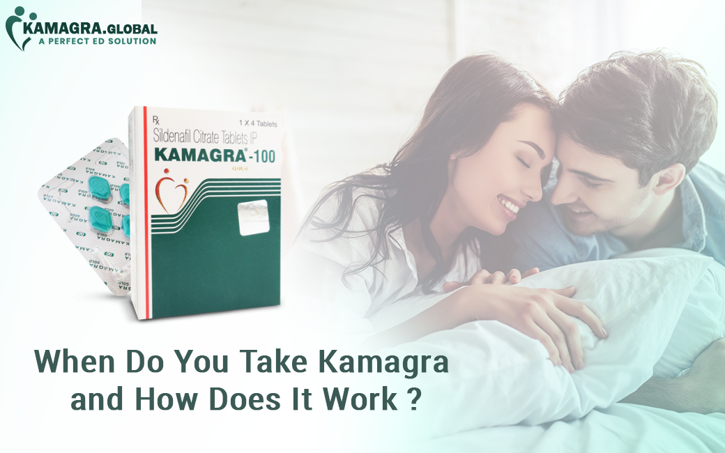Take Kamagra and How Does It Work
