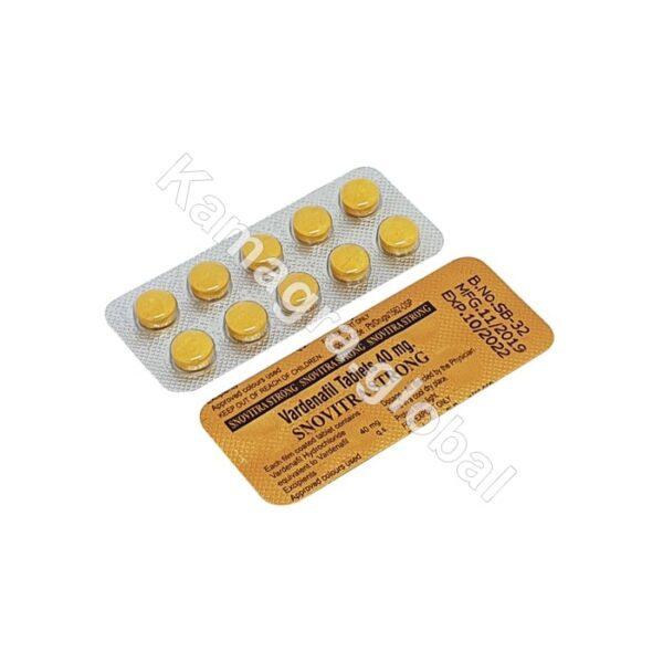 SNOVITRA STRONG 40 mg