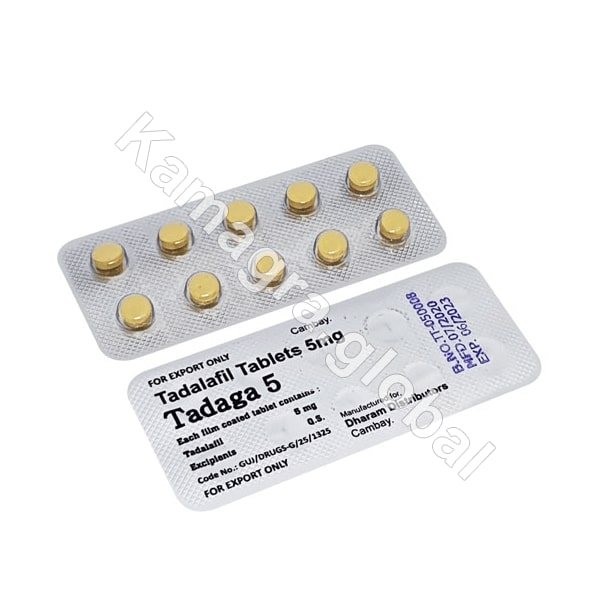 tadaga 5 mg