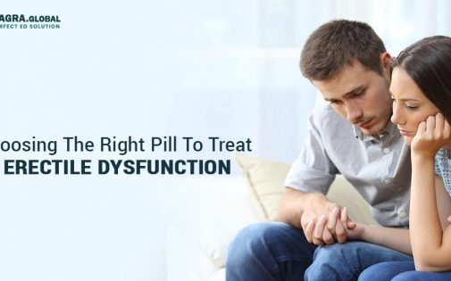 Choosing The Right Pill To Treat Erectile Dysfunction