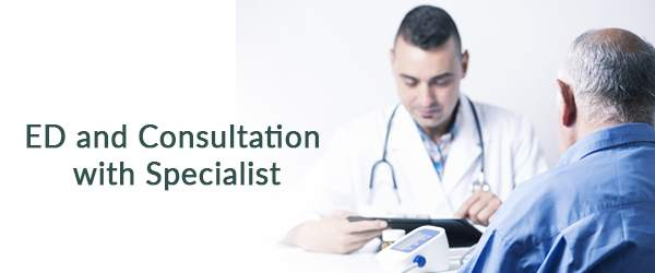 ED and Consultation with Specialist