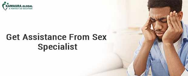 Get Assistance From Sex Specialist