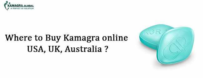 Where to buy Kamagra online USA, UK, Australia
