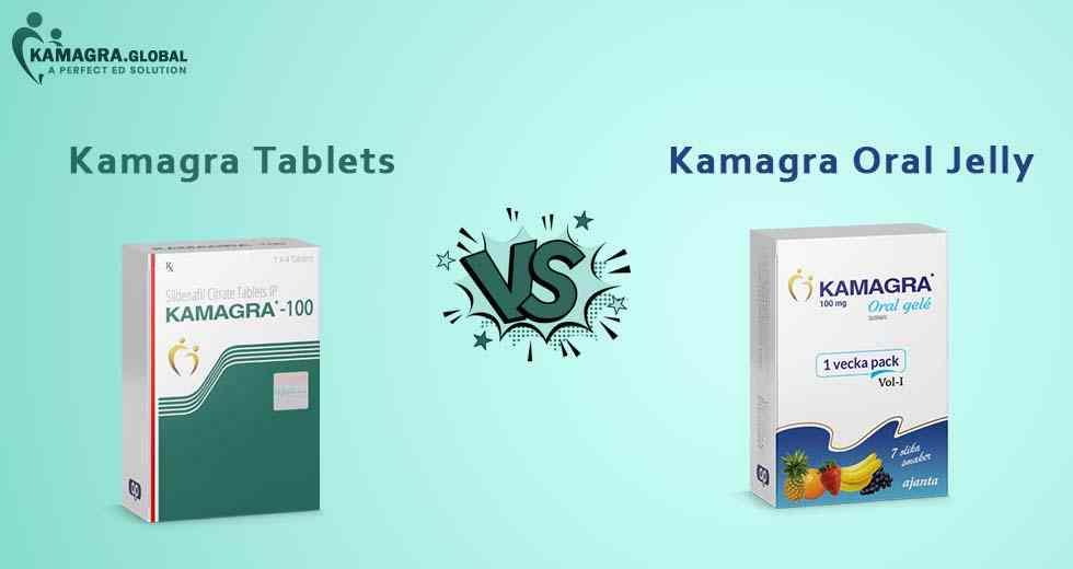 kamagra vs Kamagra oral jelly