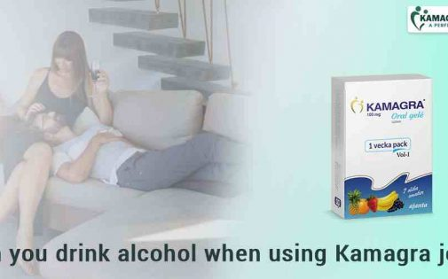 Can you drink alcohol when using Kamagra Oral jelly