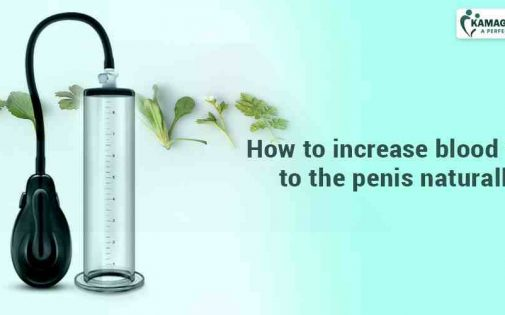How to increase blood flow to the penis naturally