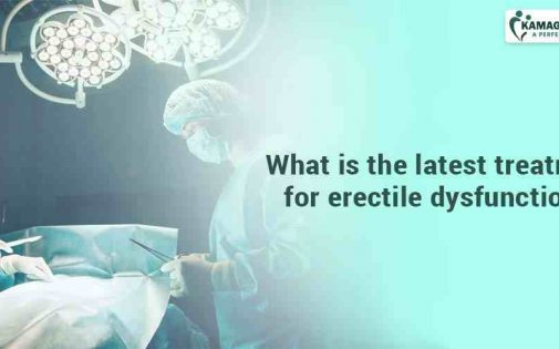 What is the latest treatment for erectile dysfunction