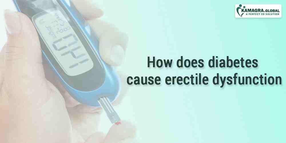 How does diabetes cause Erectile Dysfunction
